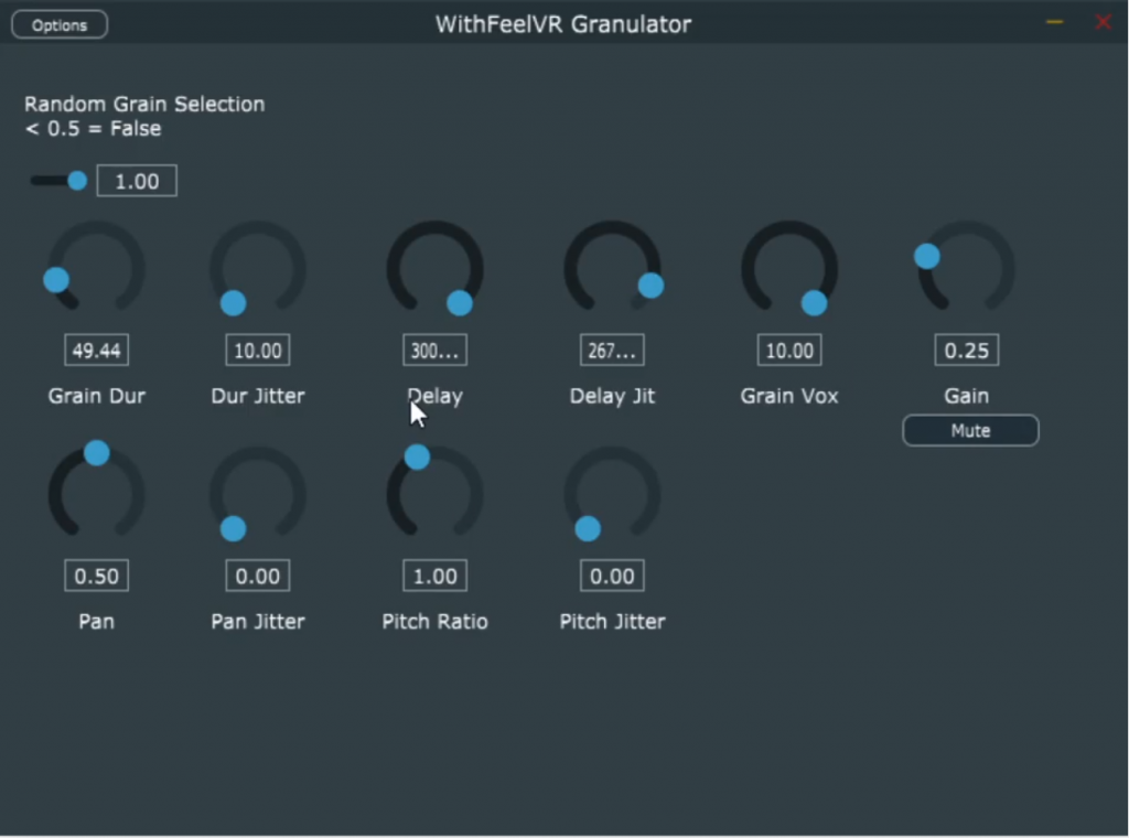An granular synthesis plugin